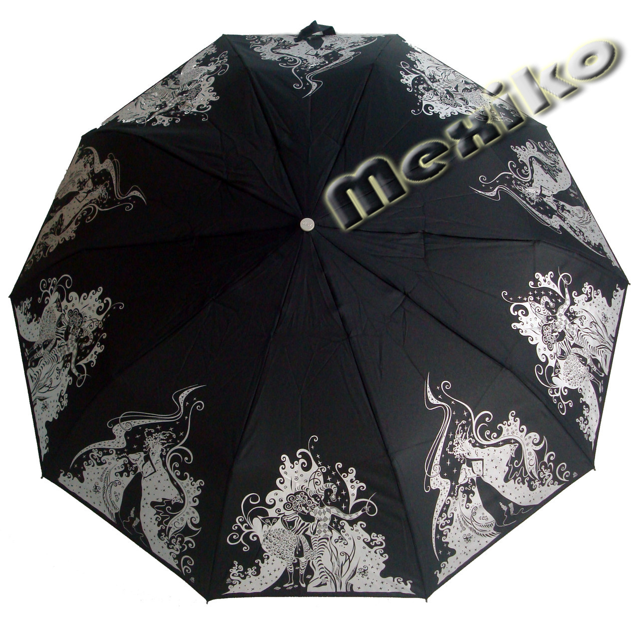 Зонт ZEST, полуавтомат серия 10 спиц, расцветка Маскарад
