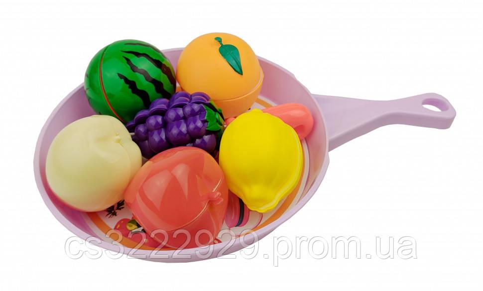 Продукты игрушечные на липучке(Фиолетовый)