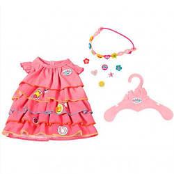 Платье летнее для куклы Беби Борн - Baby Born Zapf Creation 3+ (824481)