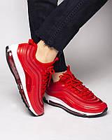 Женские кроссовки Nike Air Max 97 красные
