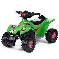 """Детский квадроцикл """"Квадрик"""" зеленый 426"""