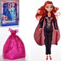 """Кукла """"Frozen"""" 903  28 см, 2 вида, платье, в коробке 33*23.5*5см"""