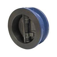 Клапан зворотний міжфланцевий двостулковий Ду 100 Genebre 2401