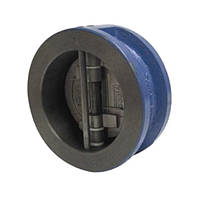 Клапан зворотний міжфланцевий двостулковий Ду 125 Genebre 2401