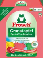 Порошок концентрат для цветного белья Frosch Colorwaschmittel Pulver Granatapfel, 18 Wl