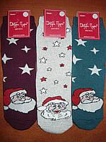 """Махровые женские носки """"Добра Пара"""". Р. 23-25 (37-40). Дед Мороз"""