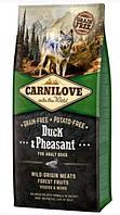 Сухой корм Carnilove Dog Adult Duck & Pheasant 12кг