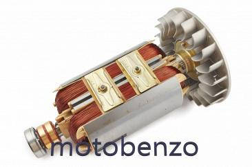 Якір бензогенератора ротор 6 кВт, фото 2