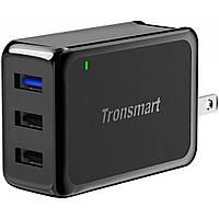 Зарядное устройство Tronsmart W3PTA 42W Quick Charge 3.0 USB Wall Charger Black (210778)