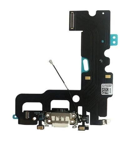 Шлейф с разъемом зарядки и микрофоном (charging connector ) для iPhone 7 Plus (Белый)