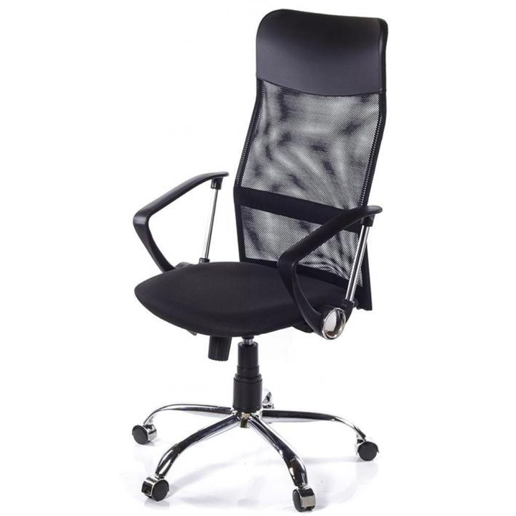 Офисное кресло АКЛАС Гилмор CH TILT Черное (02421)