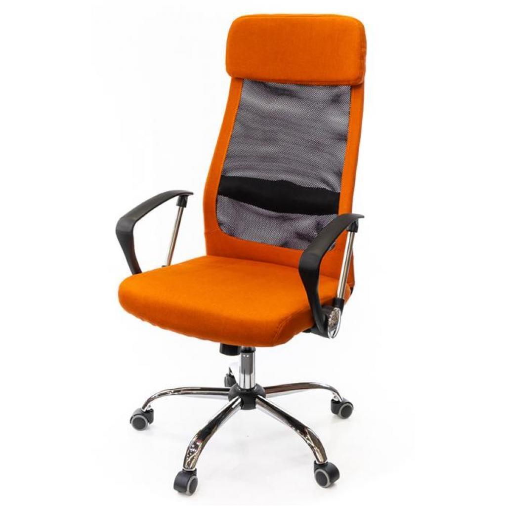 Офисное кресло АКЛАС Гилмор FX CH TILT Оранжевое (11032)