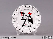 Тарелка декоративная Jansen+co BV Сплетницы 20 см 660-526