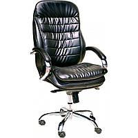 Офисное кресло ПРИМТЕКС ПЛЮС Valencia Сhrome D-5 Black (Valencia Chrome D-5)