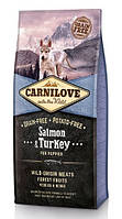 Сухой корм Carnilove Puppy Salmon & Turkey 12кг