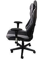 Кресло геймерское Bonro 2011-А серое, фото 3