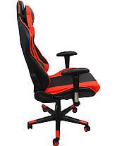 Крісло геймерське Bonro 2011-А червоне, фото 3