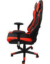 Кресло геймерское Bonro 2011-А красное, фото 3