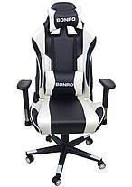 Кресло геймерское Bonro 2011-А White, фото 2