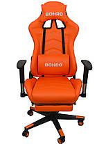 Кресло геймерское Bonro 2007-1 Orange, фото 2