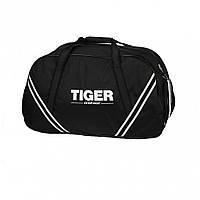 Большая сумка дорожная спортивная от производителя Tiger Спорт 3 Черный глянец