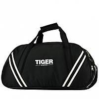 Маленькая сумка дорожная спортивная Tiger Спорт 1 - Черный (глянец)