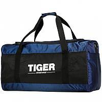 Большая дорожная сумка Tiger Gross-2 Синий + Черный (глянец)