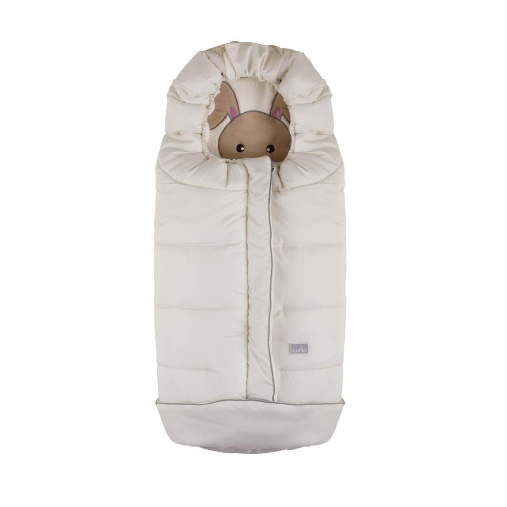 Зимний конверт Nuvita СUCCIOLI JUNIOR молочный (NV9605CUCCIOLOJRMILK)