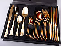 Набор столовых предметов Herdmar Рокко 24 пред 676-007
