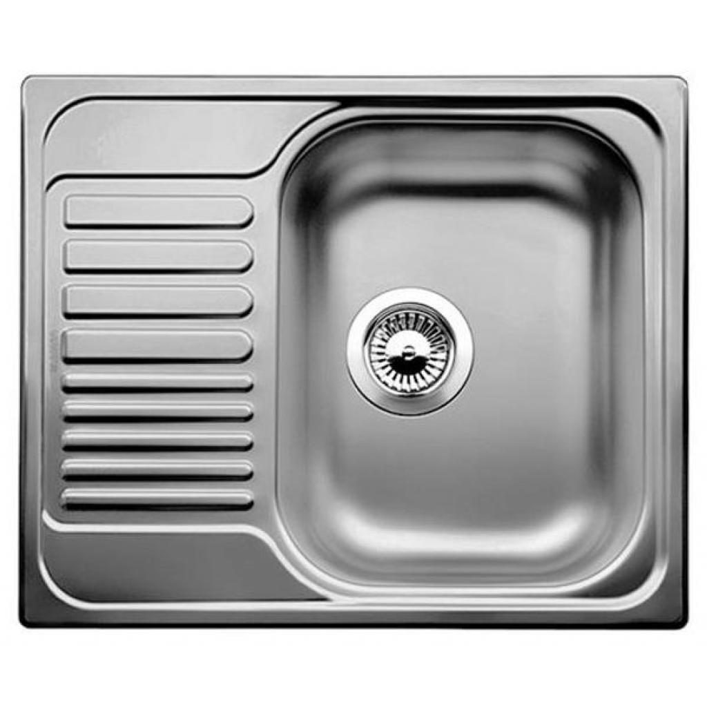 Мойка кухонная BLANCO 516525 TIPO 45S MINI НЕРЖ. ДЕКОР