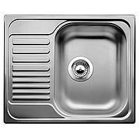 Мойка кухонная BLANCO 516525 TIPO 45S MINI НЕРЖ. ДЕКОР, фото 1