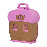 Игровой набор Li'l Woodzeez Кейс для фигурок розовый (63601Z)