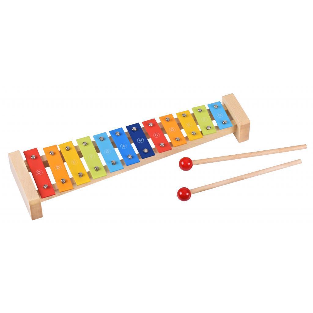 Музыкальная игрушка Goki Ксилофон радуга (61907G)