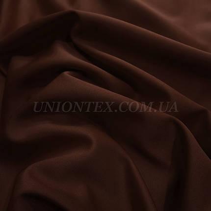 Трикотаж дайвінг шоколадний, фото 2