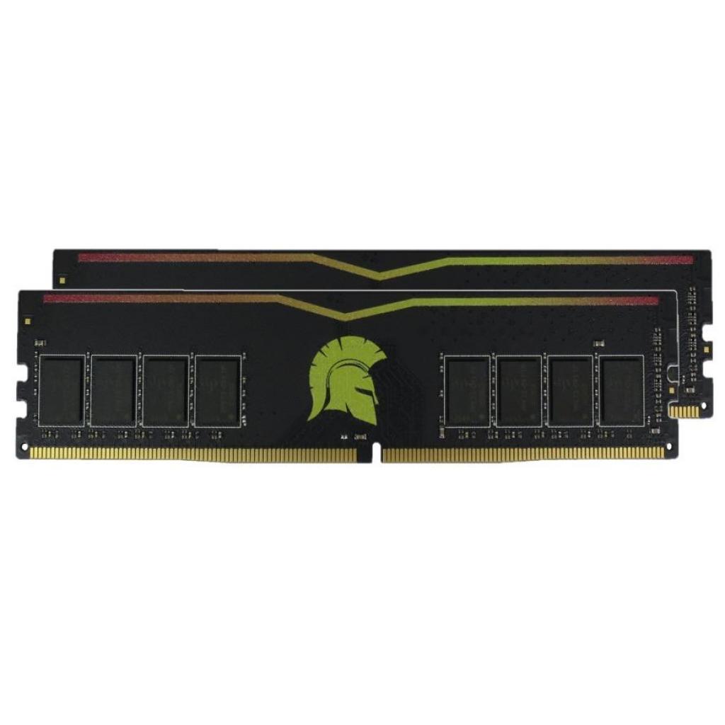 Модуль памяти для компьютера DDR4 16GB (2x8GB) 2400 MHz Yellow eXceleram (E47060AD)