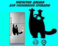 Магнитная доска на холодильник Кот Саймона царапун XXL (40х50см)