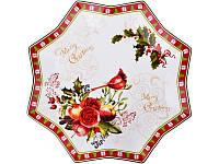 Блюдо Lefard Новогодняя коллекция 25 см  924-146