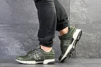 Кроссовки мужские в стиле Adidas Climacool в стиле Адидас Климакул,текстильтекстиль код SD-7788.Темно-зеленые