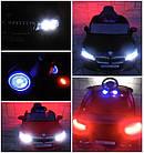 Детский электромобиль Cabrio B4 с мягкими колесами (EVA колеса) для детей, фото 5