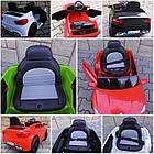 Детский электромобиль Cabrio B4 с мягкими колесами (EVA колеса) для детей, фото 8