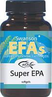 Супер Омега-3 / Super EPA ecOmega Fish Oil, 100 гелевых капсул, фото 1