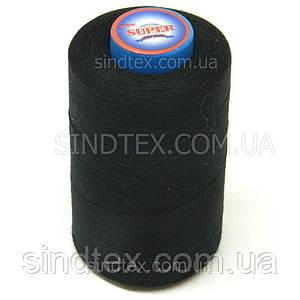 Нитки Super швейные черные 40/2 4000ярдов (6-2274-М-B)