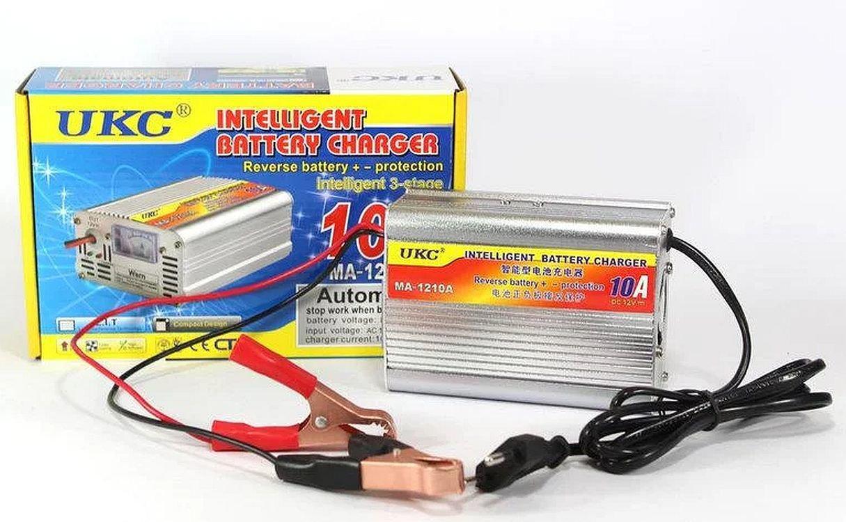 Зарядное устройство для аккумулятора Ukc battery charger Ma-1210a на 10A