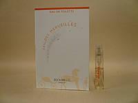 Hermes - Eau Des Merveilles (2004) - Туалетная вода 2 мл (пробник)