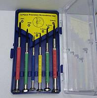 Набор прецизионных отверток 6шт  LTL10091 в пластиковом кейсе