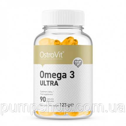 Жирные кислоты омега-3 OstroVit Omega 3 Ultra 90 капс., фото 2