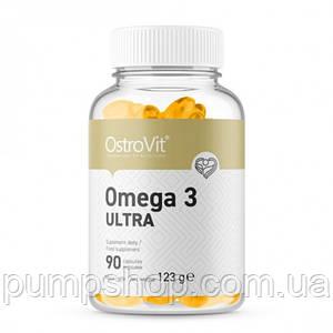 Жирные кислоты омега-3 OstroVit Omega 3 Ultra 90 капс.