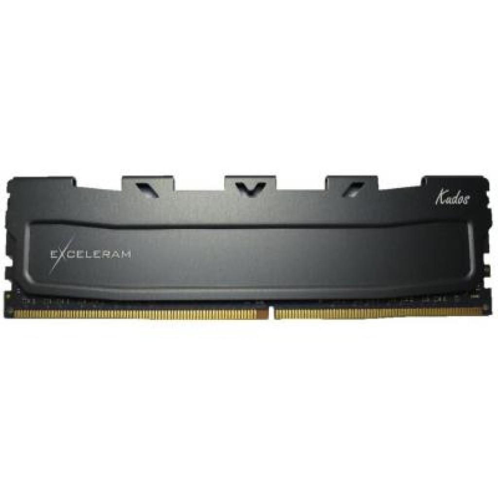 Модуль памяти для компьютера DDR4 4GB 2666 MHz Black Kudos eXceleram (EKBLACK4042618A)