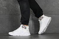 Кроссовки Adidas мужские, белые, в стиле Адидас, текстильные, код SD-8348