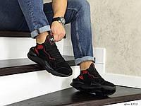Кроссовки Adidas Y-3 Kaiwa мужские, черные, в стиле Адидас Ю-3 Каиша, замша, код SD-8512
